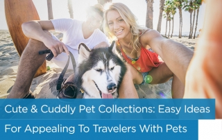 Branded pet amenities collection